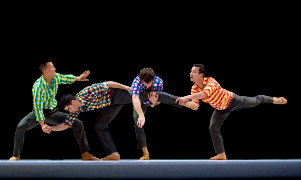 Lyon Opera Ballet in Benjamin Millepied's Sarabande Photo by Michel Cavalca