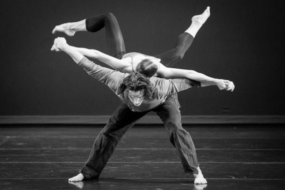 Danny Boulet and Courtney Dressner in Katy Hagelin's The Seed. Photo by Laura Shapovalov