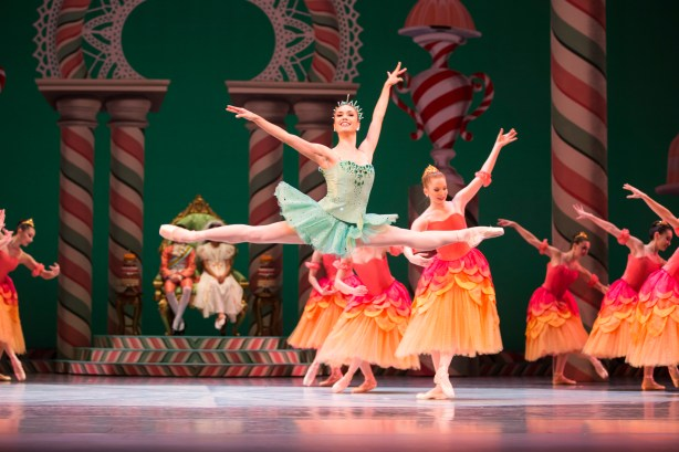 PNB principal dancer Noelani Pantastico as Dewdrop in George Balanchine's The Nutcracker®. Photo by Angela Sterling.