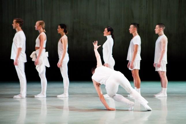 LINE DANCE by Larry Keigwin.