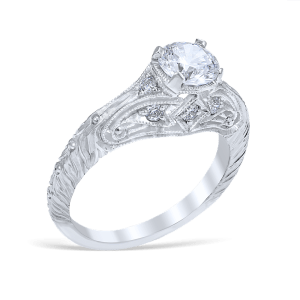 Engagement Ring #7089 by Whitehouse Brothers
