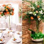 3seattle Floral Design Luma Photography Axis Pioneer Square Table Centerpiece Orange White Green Mandarin Tree 1 Seattle Floral Design