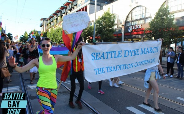 Photos: Seattle Dyke March 2016 | Seattle Gay Scene | Your ...