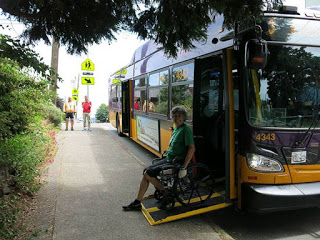 King County Metro bus. (Seattle Neighborhood Greenways)