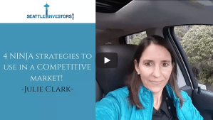 4 NINJA strategies to use in a COMPETITIVE market! With Julie Clark