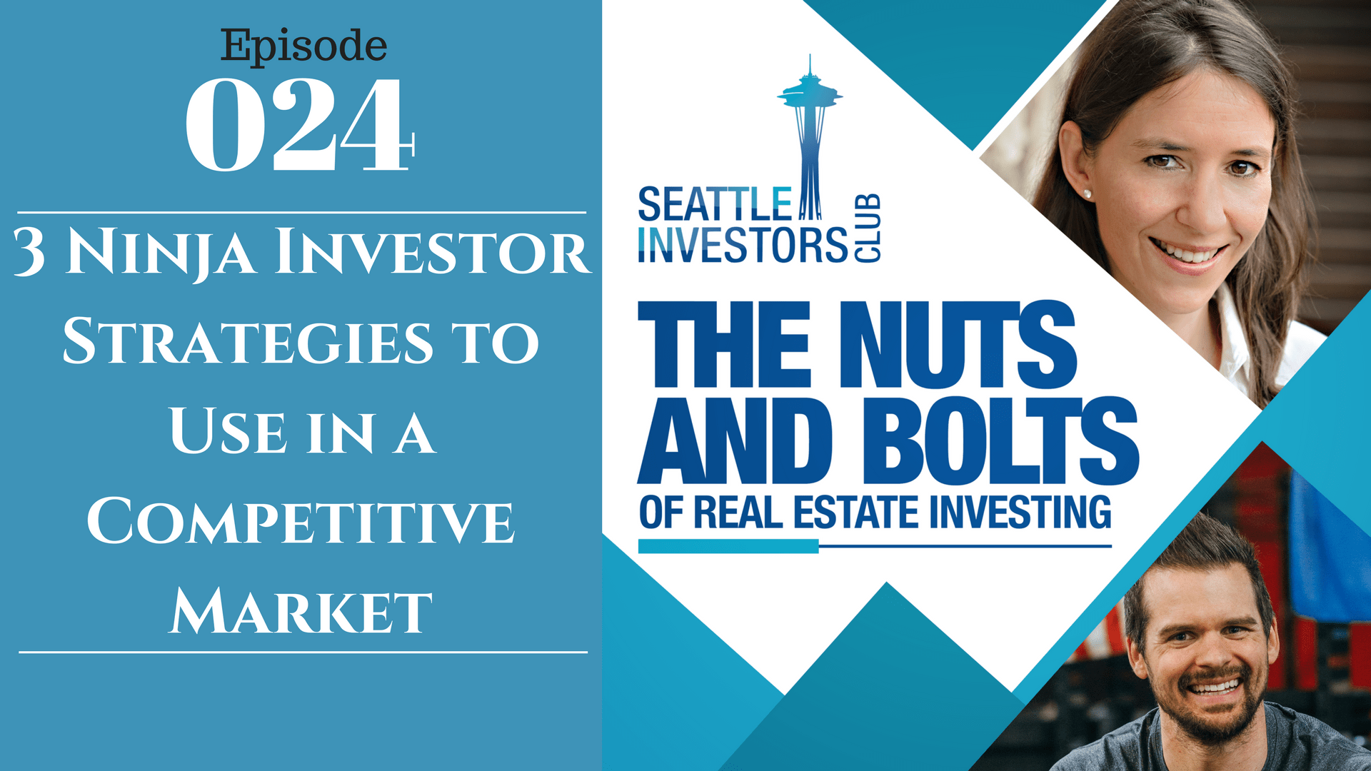 SIC 024: 3 Ninja Investor Strategies to Use in a Competitive Market with Julie Clark and Joe Bauer