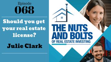 SIC 068: Should you get your real estate license with Julie Clark and Joe Bauer