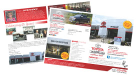 12 x 18 direct mail flyers