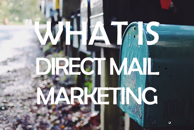what is direct mail marketing