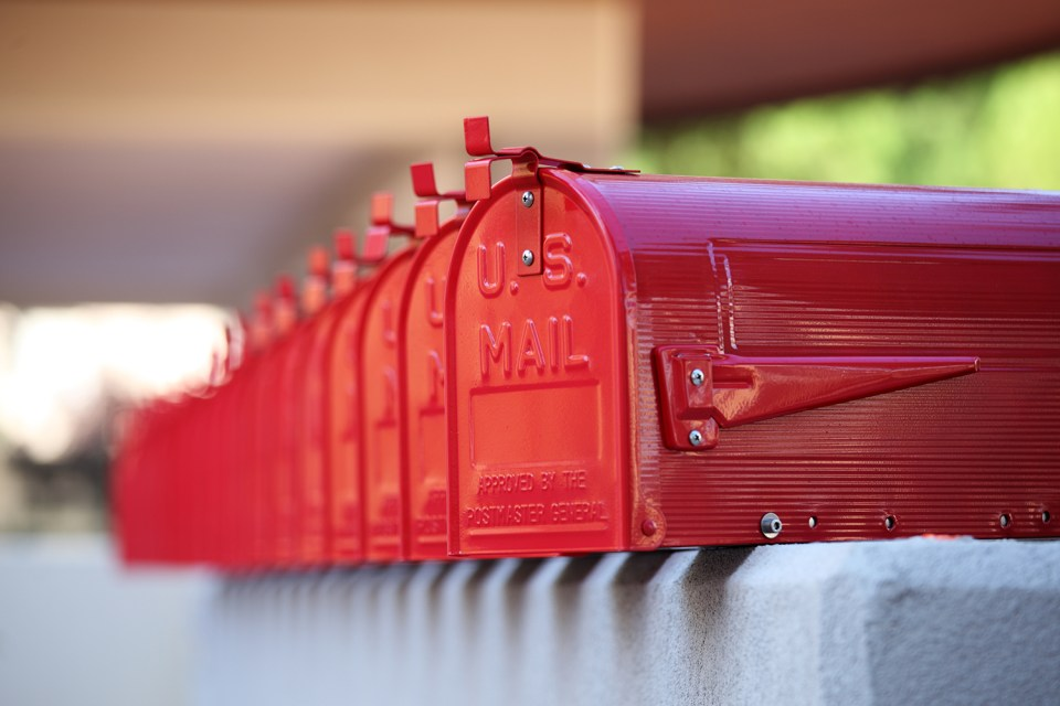 direct mail marketing with repetition