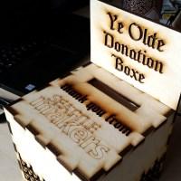 Ye Olde Donation Boxe