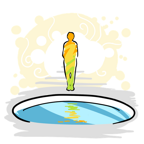 joyous self reflection