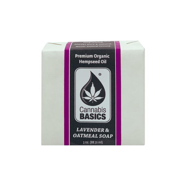 Cannabis Basics Lavender Oatmeal Soap