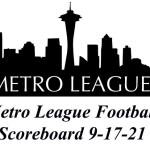 Metro League Roundup – Scores & Highlights From Metro League Football Action 9-17-21