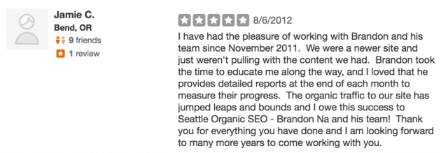 Top Seattle SEO continues to get rave reviews