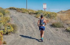 Ellen Lavoie's FKT Iron Horse/John Wayne Trail Run for Charity