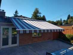 KE durasol regal retractable awning roof mount north seattle