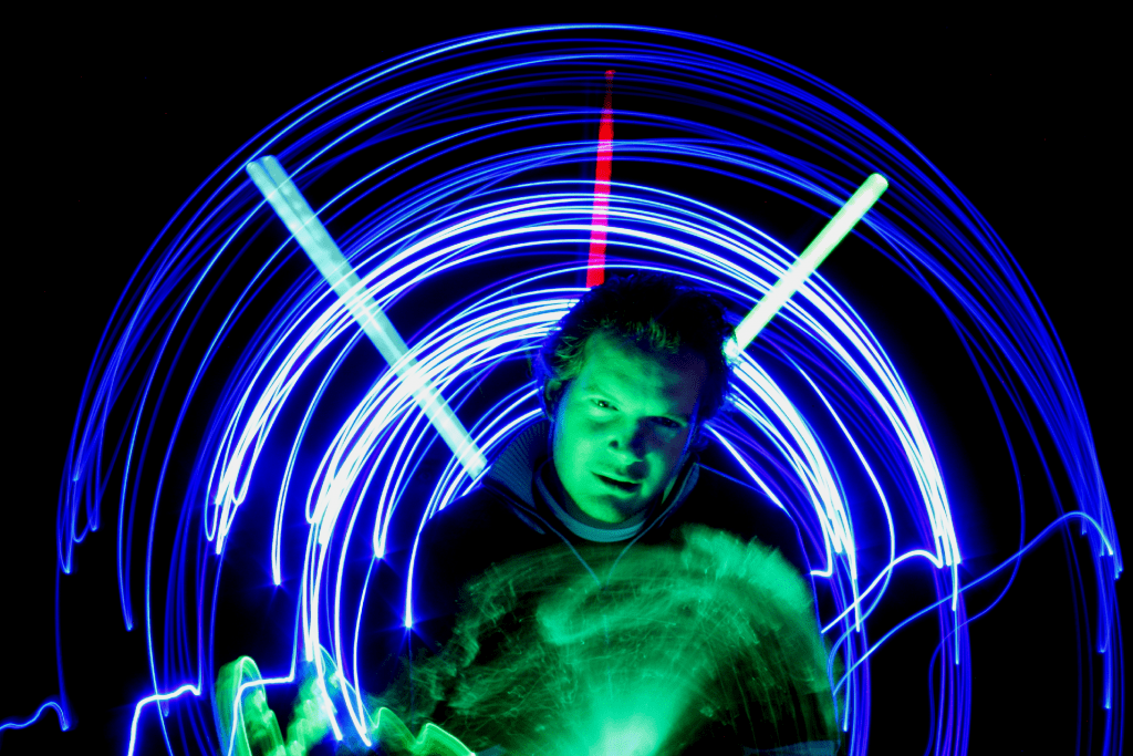 Light Painting Samples