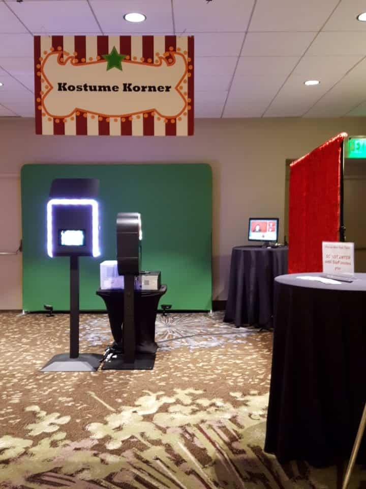 MokPix Photo Booth Kiosk Setup x2