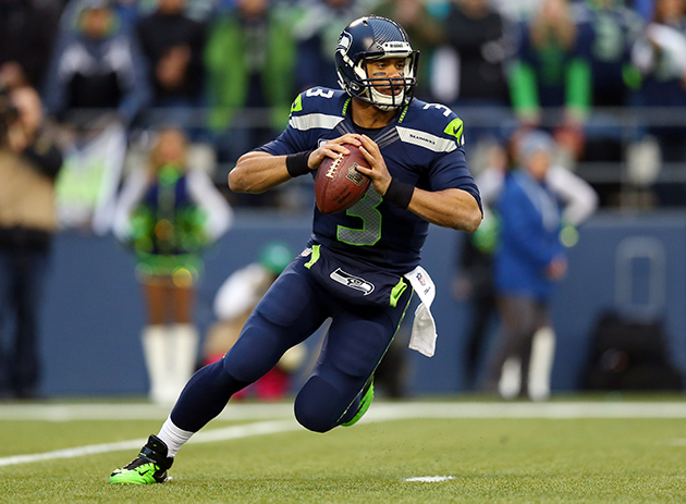 Russell Wilson of the Seattle Seahawks