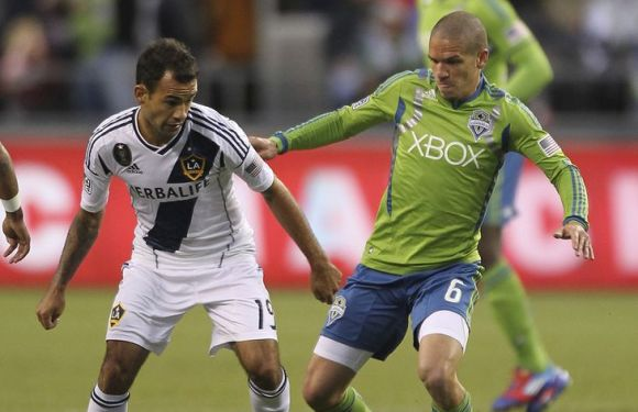Seattle Sounders 1 LA Galaxy 3: Dos Santos starts, tres goals for the Galaxy