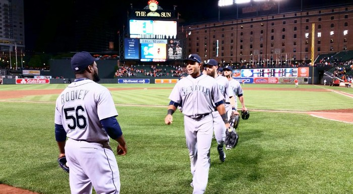 Seattle Mariners 4, Baltimore Orioles 2: M's Win with Ruggiano's Bat and Elias' Arm