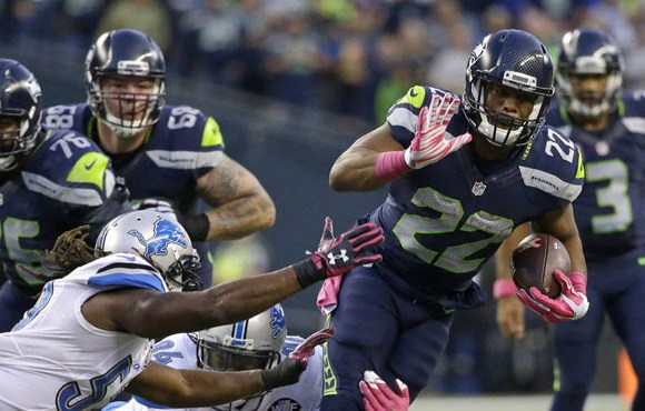 Seattle Seahawks: Running Back Fred Jackson crashes car unclear if any injury