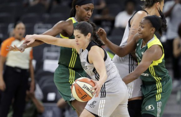 Breanna explodes for 22, Storm gets 1st road win of the year over Stars 85-76