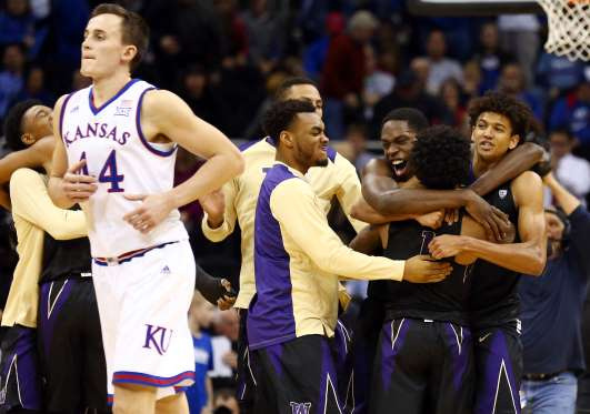 Huskies take out the #2 Jayhawks in signature win for new coach