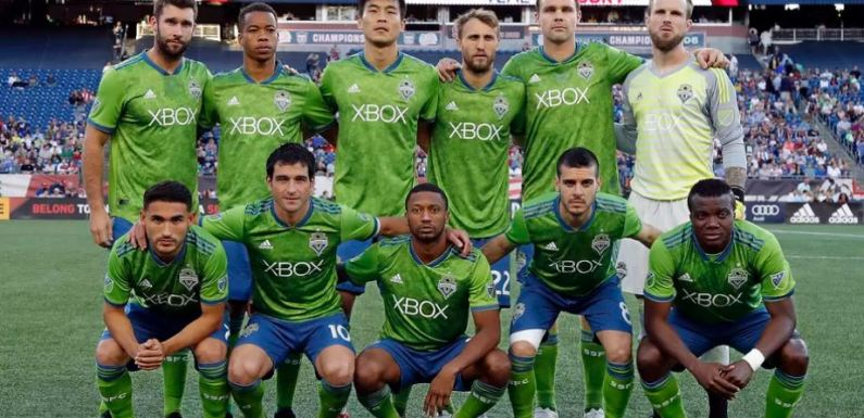 Sounders spin their tires, tie Revolution 0-0