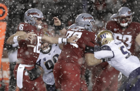 Snowbound Dawgs take the Apple Cup, down WSU 28-15