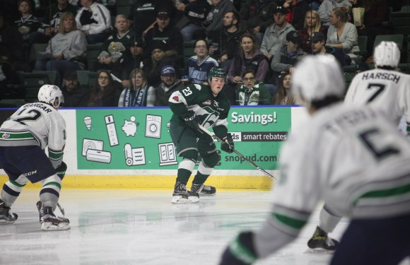 Connor Dewar lifts Silvertips to a 6th consecutive win over T-Birds