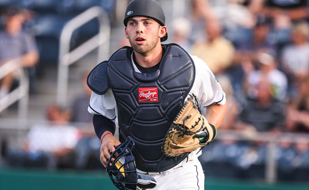 New AquaSox Catcher Carter Bins sits down with SSU
