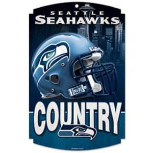 Seahawks Country Fan Sign