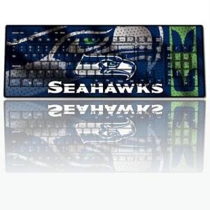Seattle Seahawks - Mariners - Sounders Computer Gear