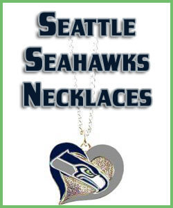Seattle Seahawks Necklaces