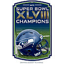 Seattle Seahawks Super Bowl XLVIII NFL Champions 2014