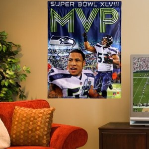 Malcolm Smith Super Bowl MVP Seahawks Fan Gear