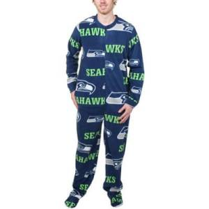 Seattle Seahawks and Mariners Pajamas