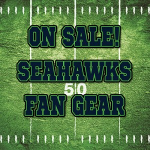 Seahawks Fan Gear On Sale!