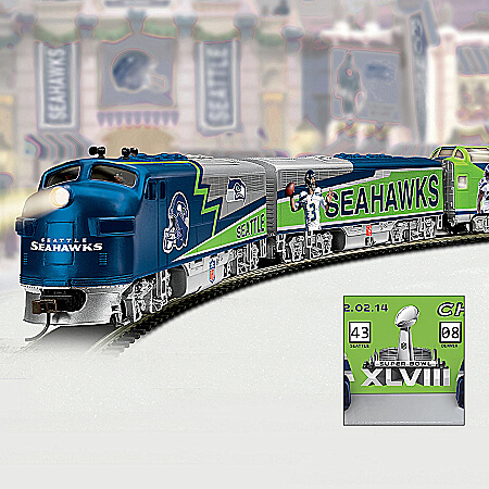 Seattle Seahawks & Mariners Fan Gear by The Bradford Exchange Online