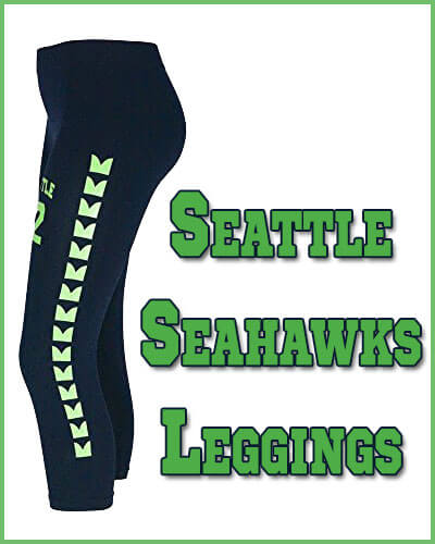 Seattle Seahawks Leggings