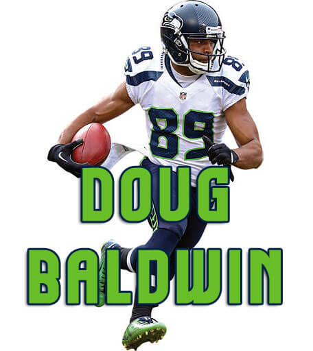 sale retailer e9c7b 6f844 Doug Baldwin - Seattle Seahawks Fan Gear | SeattleTeamGear.com