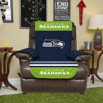 Pegasus Home Fashions Seattle Seahawks Reversible Furniture Protector for Chair