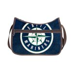 Custom MLB Seattle Mariners Body Handbags Casual Bags Shoulder Bag (Twin Sides )