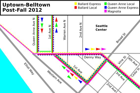 Uptown-Belltown: Post-Fall 2012