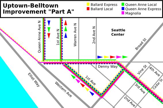 """Uptown-Belltown: SDOT Improvement """"Part A"""""""