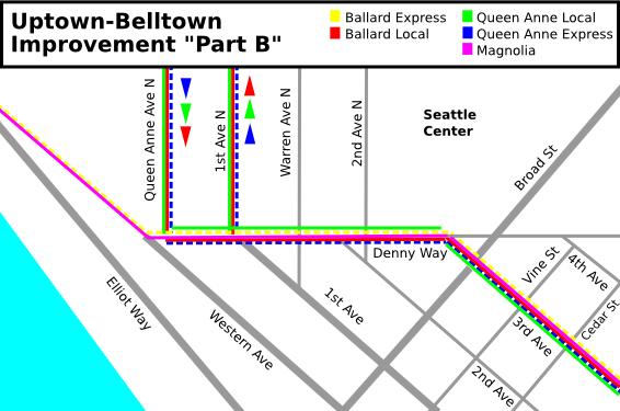 """Uptown-Belltown: SDOT Improvement """"Part B"""""""
