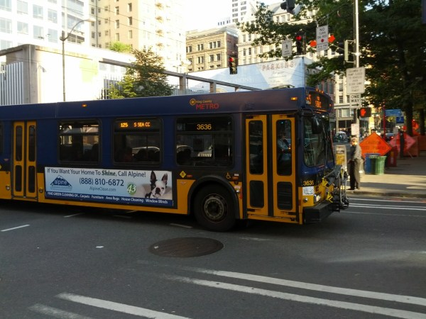 King County Metro 125 at 1st & Columbia