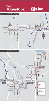 The F-Line, running between Burien and Renton
